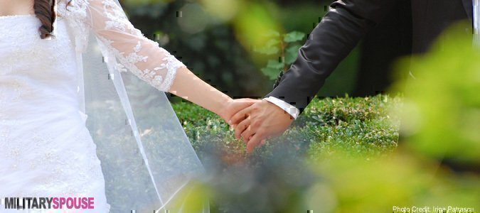 The Military Planned My Wedding Now What Military Spouse