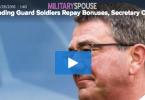 DoD Sec. Ash Carter Orders Pentagon to Stop Reclaiming Reenlistment Bonuses