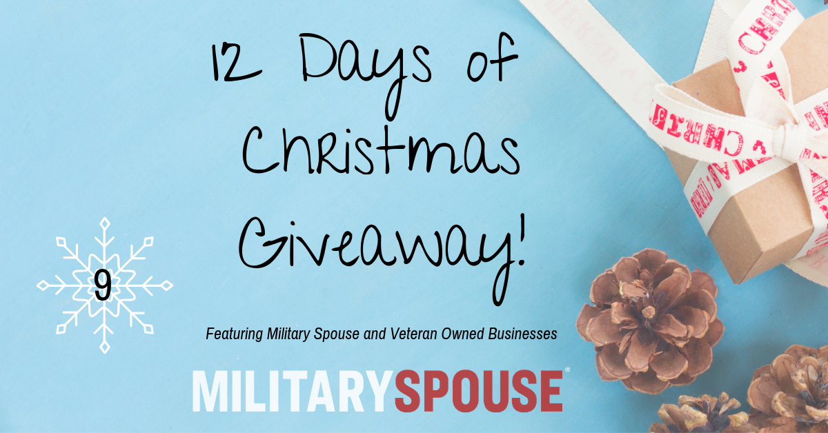 Ninth Day Of Christmas.On The Ninth Day Of Christmas Military Spouse