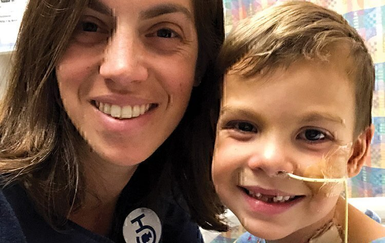 Brave little heart: One Air Force family navigates the unthinkable